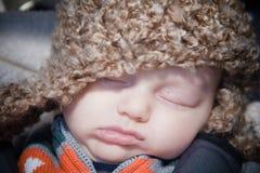 Nettes Baby-Schlafen lizenzfreie stockbilder