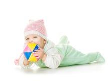 Nettes Baby sechs Monate alte Stockbild