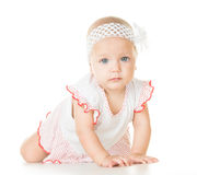 Nettes Baby sechs Monate alte Lizenzfreie Stockfotografie