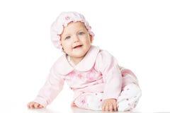Nettes Baby sechs Monate alte Lizenzfreie Stockbilder