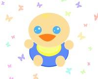 Nettes Baby_White Lizenzfreie Stockfotos