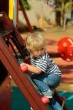 Nettes Babykletterseilnetz oder -leiter Lizenzfreie Stockbilder