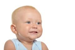 Nettes blondes Baby Lizenzfreies Stockbild