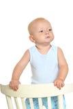 Nettes blondes Baby Stockbilder