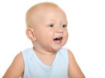 Nettes blondes Baby Lizenzfreie Stockbilder