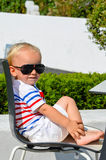 Nettes blondes Kind Lizenzfreies Stockbild