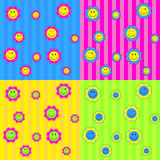Nettes Blumen-Muster Stockfoto