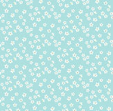 Nettes Blumenmuster stockbild