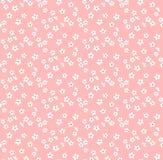 Nettes Blumenmuster Stockfoto