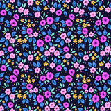 Nettes Blumenmuster Lizenzfreie Stockfotos