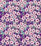 Nettes Blumenmuster stockfotos