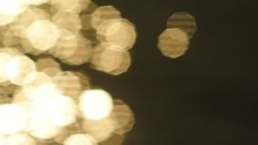 Nettes bokeh Licht stock video footage