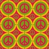 Nettes Friedensmuster lizenzfreie abbildung