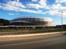 NETTES FUSSBALL-STADION DER ALLIANZS RIVIERA lizenzfreie stockfotografie