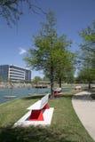 Nettes Hall Park-Frühjahr Frisco TX Stockfotografie