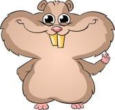Nettes Hamsterwellenartig bewegen Stockbilder