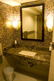 Nettes Hotelbadezimmer Stockfotografie