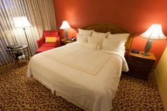 Nettes Hotelzimmer Lizenzfreie Stockfotografie