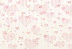 Nettes Illustrationsmaterial des Valentinstags stock abbildung