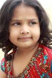 Nettes indisches Mädchen Lizenzfreies Stockfoto