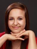 Nettes jugendlich Mädchen lizenzfreie stockfotografie