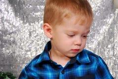 Nettes Jungenkinderweihnachten Lizenzfreie Stockfotografie