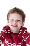 Nettes Jungenlächeln Lizenzfreie Stockfotos
