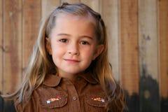 Nettes junges Mädchen Lizenzfreie Stockfotografie