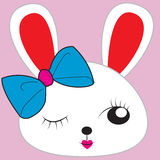 Nettes Kaninchen Stock Abbildung