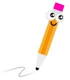 Nettes Karikaturbleistiftzeichen lizenzfreie abbildung