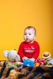 Nettes Kinderlächeln Stockfotos