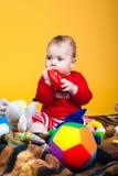 Nettes Kinderlächeln Lizenzfreies Stockbild