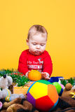 Nettes Kinderlächeln Lizenzfreies Stockfoto