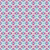 Nettes Klee-Form-Vektor-Muster Stockbild