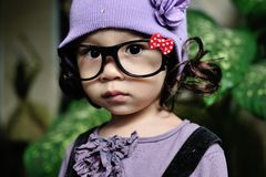 Nettes kleines asiatisches Mädchen stockfotos