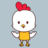 nettes kleines Huhn Lizenzfreies Stockbild