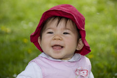 Nettes kleines Mädchen Lizenzfreie Stockbilder