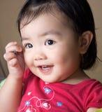 Nettes kleines Mädchen Lizenzfreies Stockbild