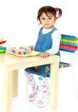 Nettes kleines Mädchen Stockbilder