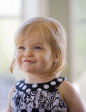 Nettes kleines Mädchen Stockfotos