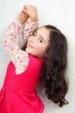 Nettes kleines Mädchen Stockfotografie