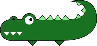 Nettes Krokodil Lizenzfreie Stockfotos
