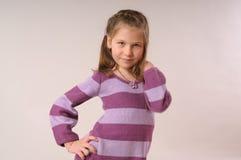 Nettes Mädchen lizenzfreies stockfoto
