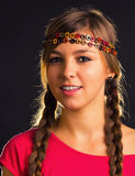 Nettes Mädchenporträt Stockbilder