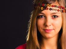 Nettes Mädchenporträt Lizenzfreies Stockbild