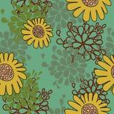 Nettes mit Blumenmuster stock abbildung