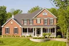 Nettes modernes Haus Lizenzfreies Stockfoto