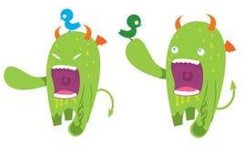 Nettes Monster Lizenzfreies Stockfoto