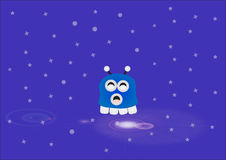 Nettes Monsterbaby Lizenzfreies Stockfoto
