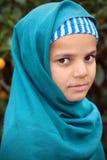 Nettes moslemisches Mädchen lizenzfreies stockbild
